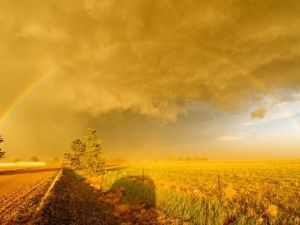 rainbow undersupercellOK TX